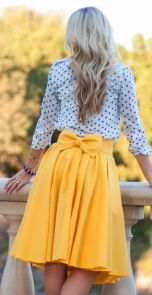 Yellow and midi. This is what we need this season